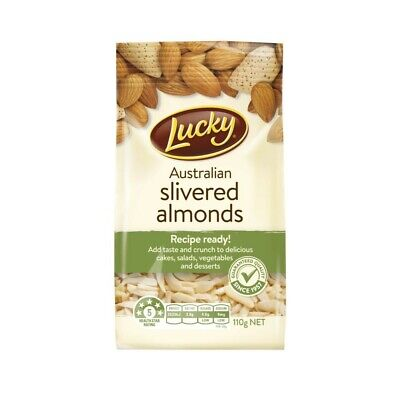 Lucky Slivered Almonds 110g