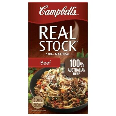 Campbell's Real Beef Stock 500mL