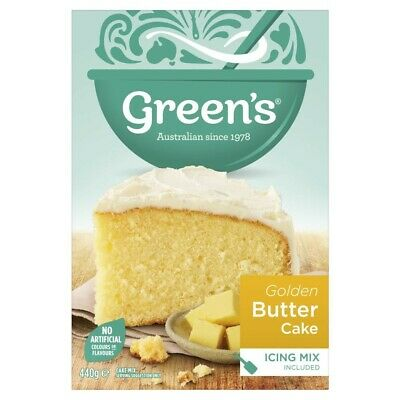 Green's Traditional Golden Butter Cake Mix 440g