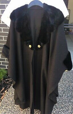 vintage dress# Coat With Fur