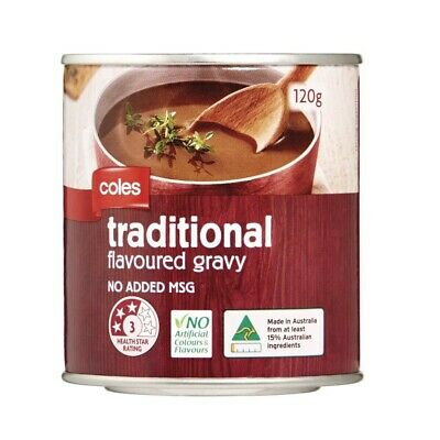 Coles Traditional Gravy Mix 120g