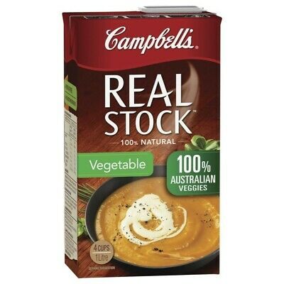 Campbell's Real Vegetable Stock 1L