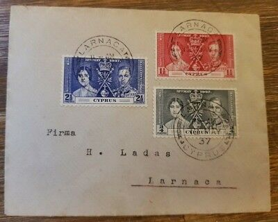 CYPRUS - 1937 - COVER in excellent condition