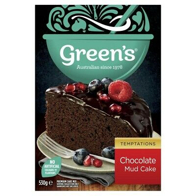 Green's Chocolate Mud Cake Mix 530g
