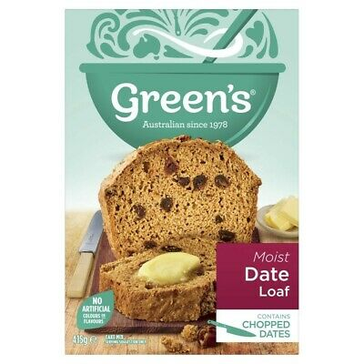 Green's Traditional Date Loaf Baking Mix 415g