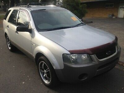 Ford Territory 2005 Model Awd Wagon Hail Damaged Statutory Write Off Salvage