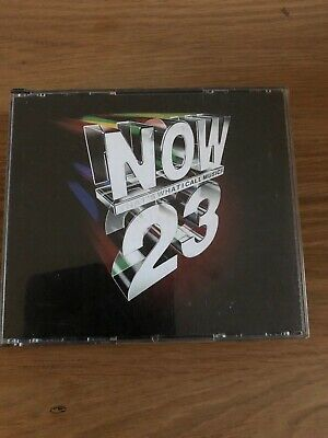 NOW THAT'S WHAT I CALL MUSIC 23 - CD album (Fatbox)