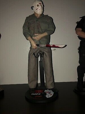 """Sideshow Jason Voorhees Friday the 13th Part 3 12"""" Figure Loose Read Description"""