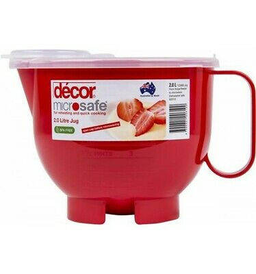 Decor Microwave Safe Jug 2l