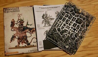 Warhammer Age of Sigmar Thanquol and Boneripper New on Sprue AoS Skaven