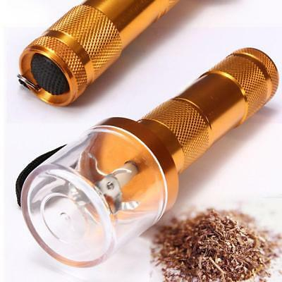 Electric Allloy Metal Grinder Crusher Crank Tobacco Smoke Spice Herb Muller  JS