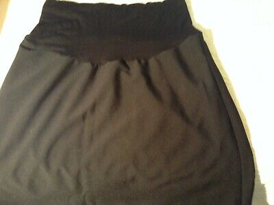 Ladies Maternity Skirt By Ripe Limited Size S Black