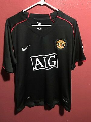 aaccba1d89b Authentic Nike Manchester United Cristiano Ronaldo Black Away Jersey Size M