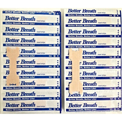 100-200 PCS LARGE/SMALL NASAL STRIPS Breathe Better & Reduce Snoring Right Now