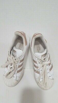 4f2bd5cf5ac0 ADIDAS SUPERSTAR ROSE Gold Women s Sneakers -  12.00