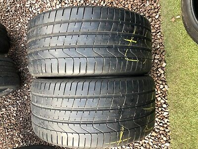 Part Worn Tyres 2x 255/35/19 Summer Pirelli P Zero 97Y AO