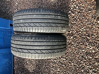 Part Worn Tyre 2x 225/45/18, Summer, Pirelli P Zero 91W *