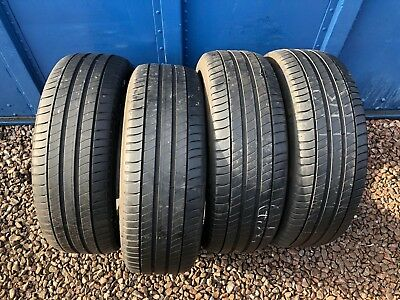 Part Worn Tyre 4x 205/55/17 Summer Michelin Primancy 3 95V