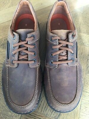 843362f05f5b BRAND NEW CLARKS Unnature Time Men s Casual Shoes in Brown Leather ...