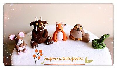 Gruffalo with friends Edible cake topper Decoration set birthday unofficia
