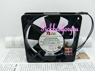 1pc Delixi G12025HA2SL 220V 21(W) 120*120*25MM Cooling fan #MU34 QL