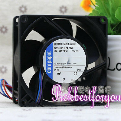 ebmpapst 3214J/2H3F inverter fan DC24V 1.2A 29W 92*92*38mm 4pin #MC6 QL