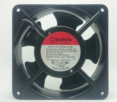 1pc SUnon DP200A 2123XBL.GN Axial cooling fan 120x120x38mm 230V 2850RPM M3593 QL