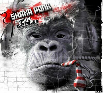 124502 Shaka Ponk - The White Pixel Ape (Smoking Isolate To Keep In Shape) (CD x