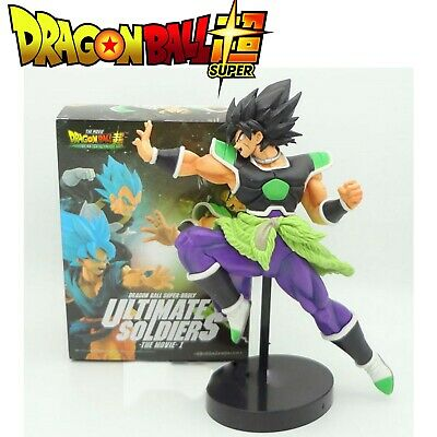 FIGURA DRAGON BALL SUPER - BROLY PELICULA ACTION FIGURE BROLY MOVIE 23cm, NUEVO.