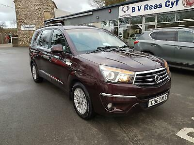 2013 63 Ssangyong Turismo 2.0 TD AWD T-Tronic EX 4X4.
