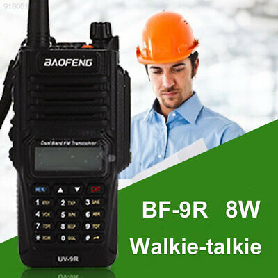 2AE9 IP67 Walkie Talkie Two-Way Radio Time-Out Timer 128CH 136-174 400-520MHZ