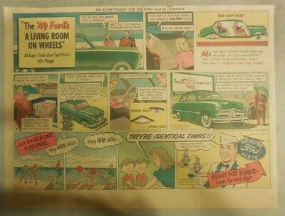 "Ford  Ad: ""Living Room On Wheels""  from 1949"