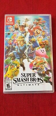 Super Smash Bros Ultimate Nintendo Switch Brand New