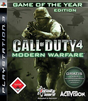 Call of Duty 4: Modern Warfare - PS3 - Game of the Year Edition - PlayStation 3