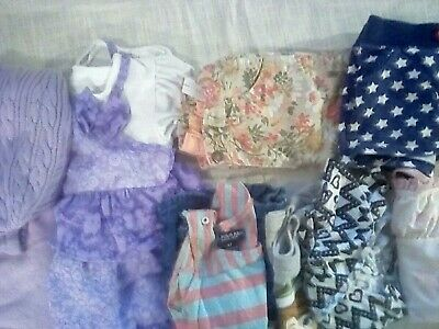 Lot 8 Pieces Girls Clothes sizes 3T-4T Various Brands