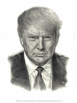"From Infowars Pres. Trump lithograph.  16"" x  20"""