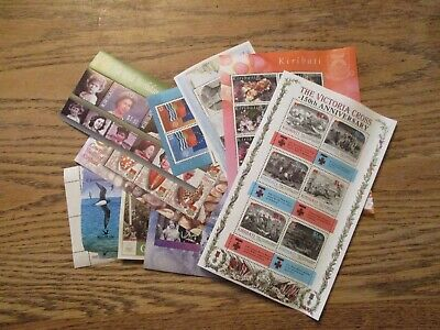 Kiribati Souvenir Sheets Lot of 22 MNH