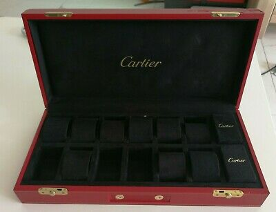 Cartier Watch Box Case Ecrin Rare Pen Montre Lighter Reloj Orologio Stylo Ühr