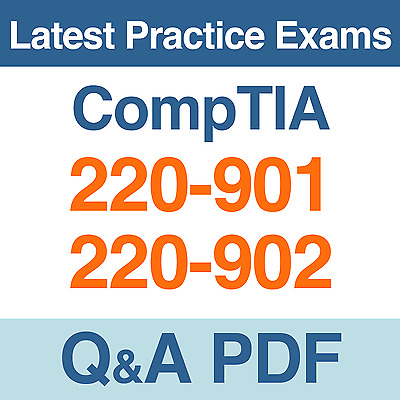 CompTIA A+ Certification Practice Tests 220-901 & 220-902 Exams Q&A
