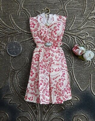 1:12th scale 30's  40's style dress  ~ hand made by suey
