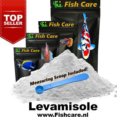 Levamisole HCl Pure Powder | 25 Grams |The Official Fishcare™ Aquarium Products