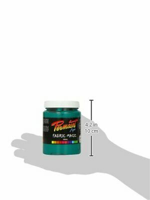 Permaset Aqua Supercover 300ml Fabric Printing Ink - Green