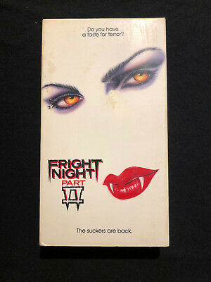 Fright Night Part 2 VHS Video horror Roddy McDowall William Ragsdale