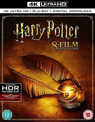 Harry Potter Complete Film Collection 4K Ultra HD Blu-ray All 8 films NEW Sealed