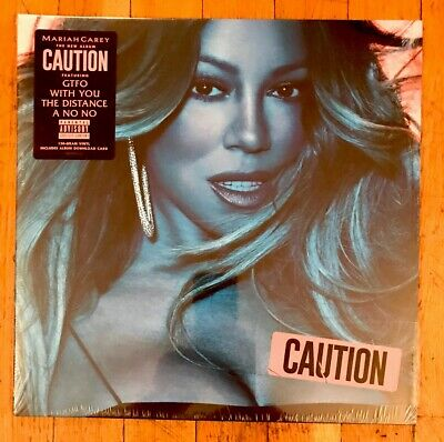 Mariah Carey ‎- Caution (Vinyl Record LP) 150 Gram Album + Download Card NEW