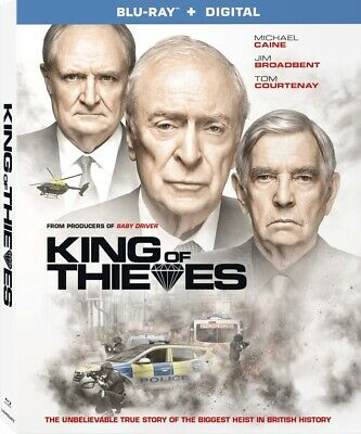 King of Thieves NEW BLU-RAY + DIGITAL  - Michael Caine -  PRE Order for 3/26/19!
