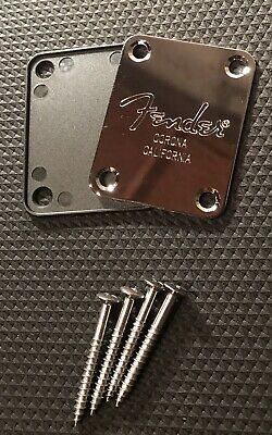 Genuine Fender® Corona California Neck Plate Replacement w/Gasket & Neck Screws