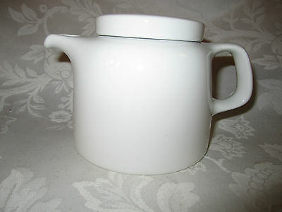Classic MCM Vintage BAUSCHER WEIDEN Bavaria Germany White Small Teapot modern