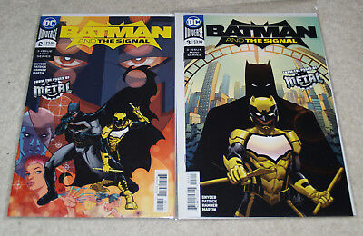 Batman and the Signal issue # 2 3 NM DC Snyder 1st first print