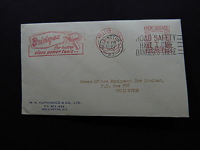 Cover New Zealand Meter Mail Metermail Wellington Bridges Tools Road Safety 1957